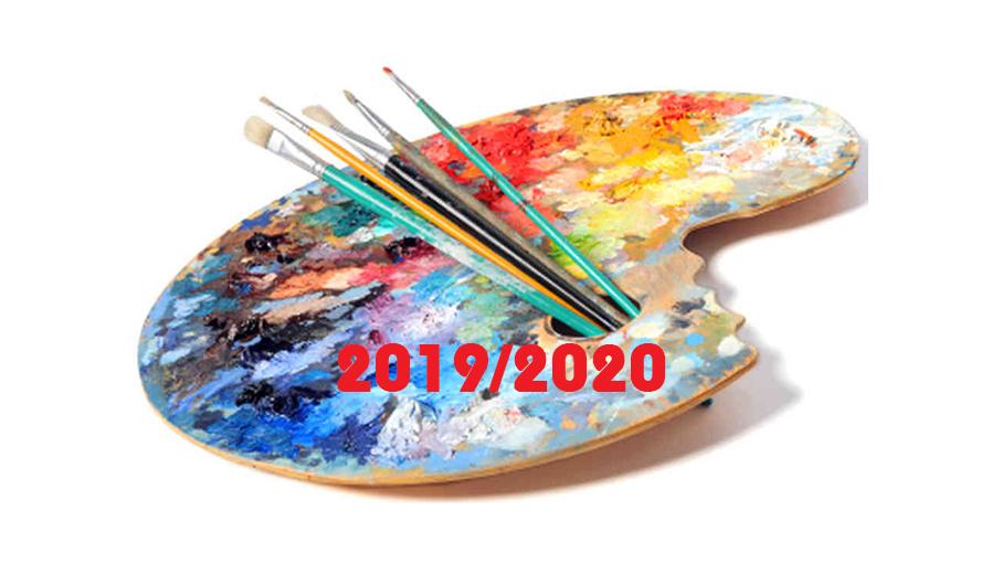 Konkursy artystyczne 2019/2020 r. – najważniejsze osiągnięcia.