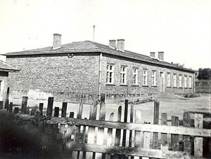 1954 r. - budynek szkoły.