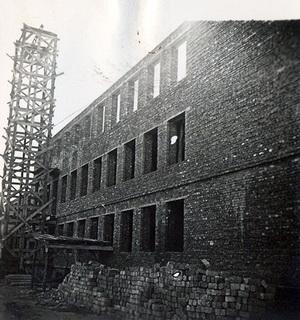 1959 r. - budynek szkoły.
