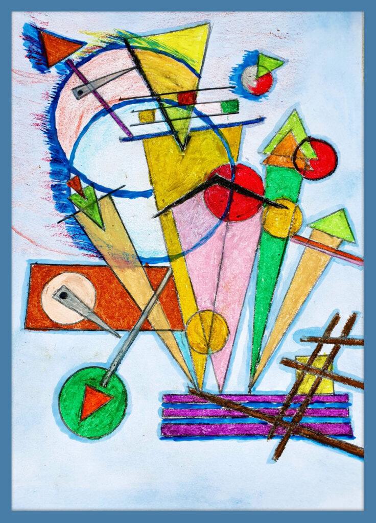 "FILIP BARTNIK - Praca nr 61 Tytuł: ""Matematyczna Abstrakcja"""