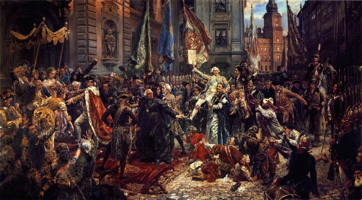 230 rocznica uchwalenia Konstytucji Majowej 🇵🇱